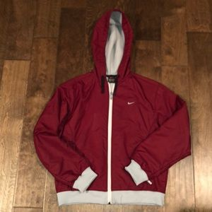 Nike lined jacket. Size Medium